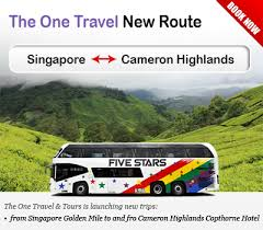 The One Travel & Tours Launched New Route to Cameron Highlands ...